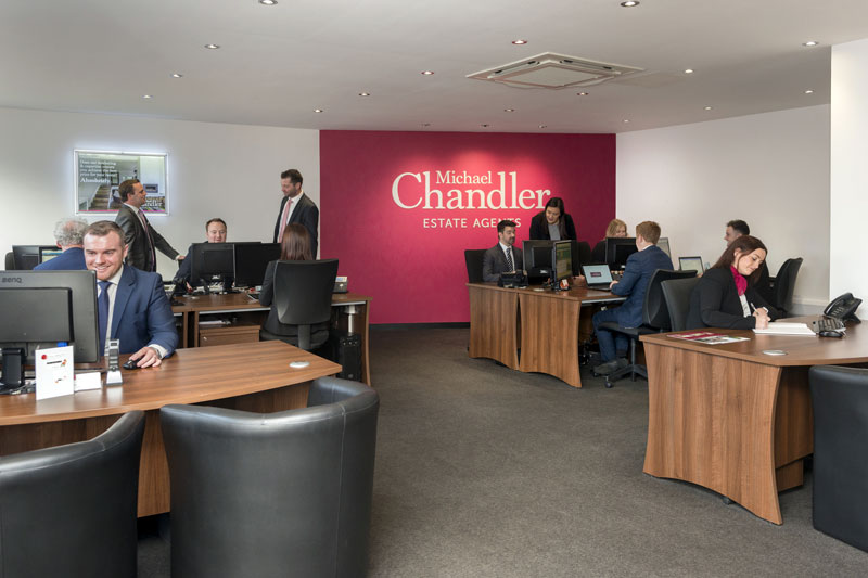 Michael Chandler Estate Agency Office Interior