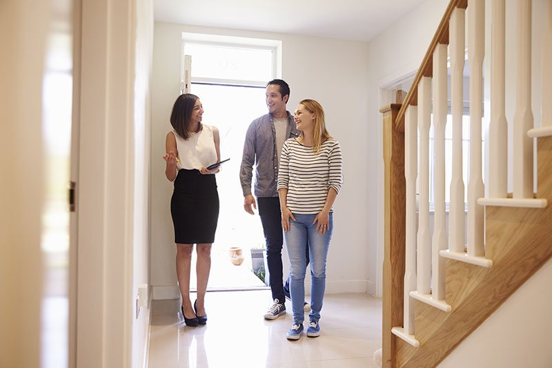 Young Couple Home Viewings